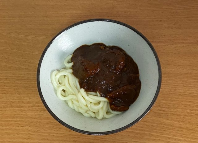 JALカレーうどん